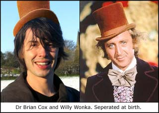 Brian and Willy Wonka