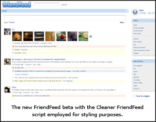 FriendFeed Beta
