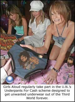 Girls Aloud Underwear