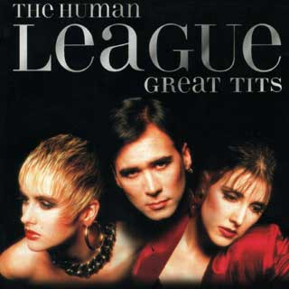 Unmodified cover of Human League's Greatest Hits album